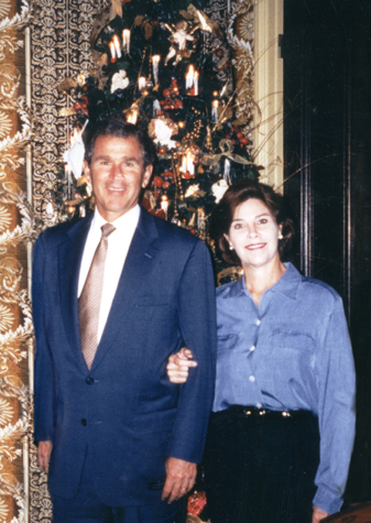George w and laura bush pity